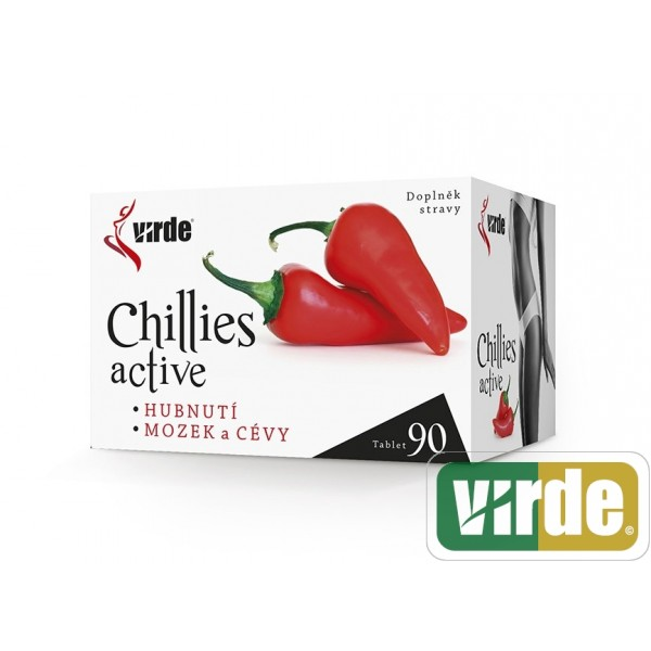 Virde Chillies Active 90 tbl.