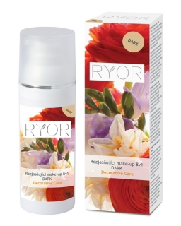 Ryor Rozjasňující make-up 8v1 DARK 30 ml