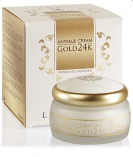 Locherber Krém GOLD 24K Anti-age, 50 ml