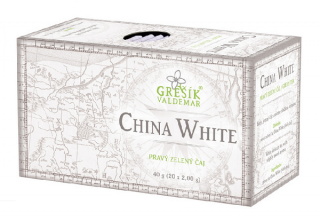 Grešík China White čaj 20 x 2,0 g
