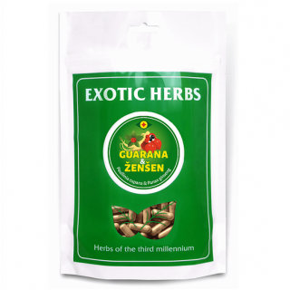 Exotic Herbs Guarana + Ženšen XL 400 kapslí