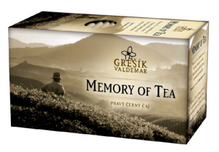 Grešík Memory of Tea čaj 20 x 1,8 g